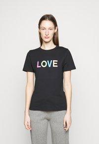 CHINTI & PARKER - LOVE  - Printtipaita - black/multi-coloured - 0