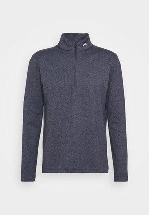 HERRINGBONE - Stickad tröja - atlanta blue