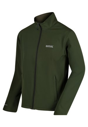 Soft shell jacket - racegrn(ivy)