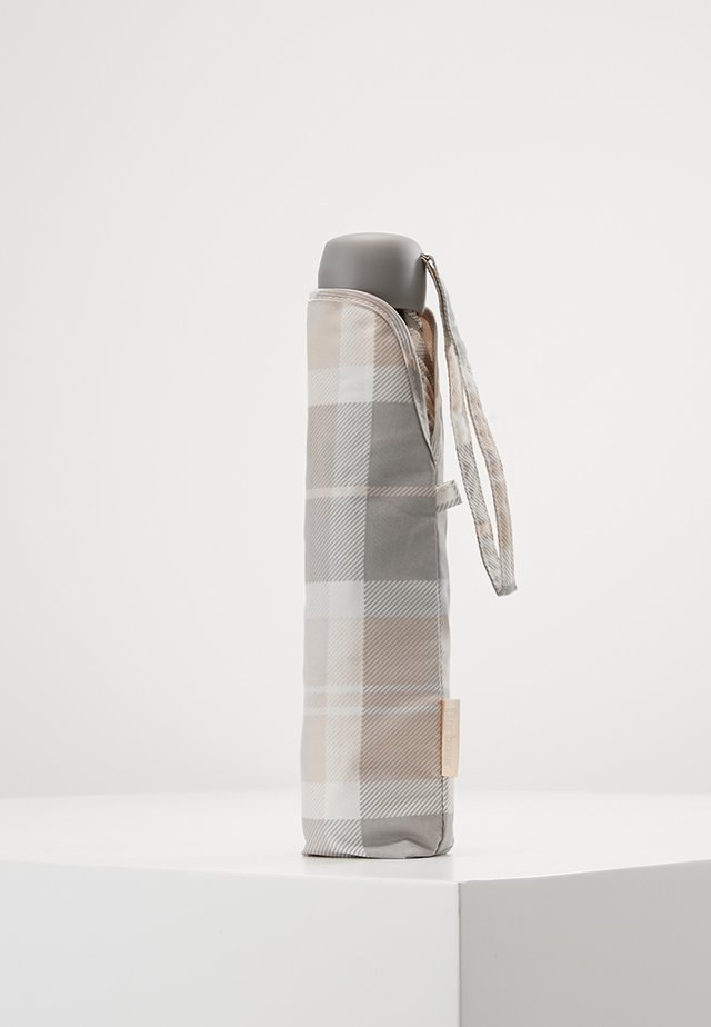 PORTREE UMBRELLA - Schirm - pink/grey tartan