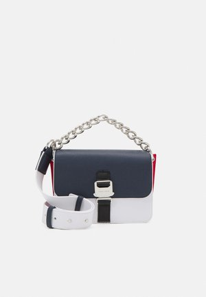 ITEM FLAP CROSSOVER - Handbag - blue
