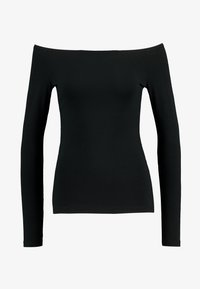 Even&Odd - BASIC - Long sleeved top - black - 4