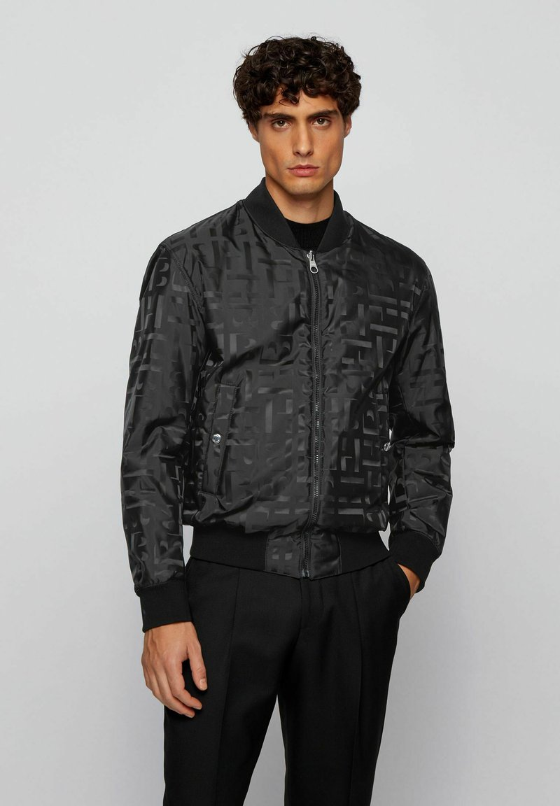 BOSS - Bomber Jacket - black