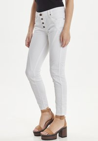 PULZ - PZROSITA - Jeans Skinny Fit - bright white - 0