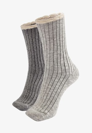 2er-Pack - Ponožky - light grey