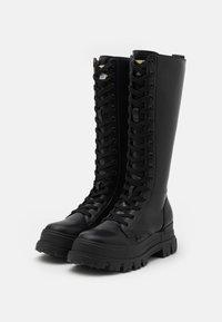Buffalo - ASPHA ON - Lace-up boots - black - 1