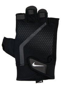 Nike Performance - MEN´S EXTREME FITNESS GLOVES - Fingerless gloves - black/anthracite/white - 3