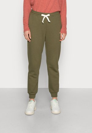 PERFECT JOGGER IN AIRYTERRY - Tracksuit bottoms - kale