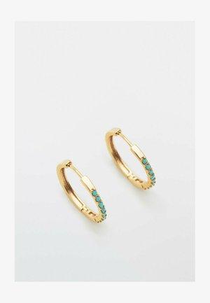 MIT TÜRKISEN  - Earrings - gold