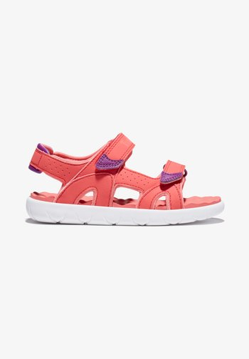 PERKINS ROW - Walking sandals - cayenne