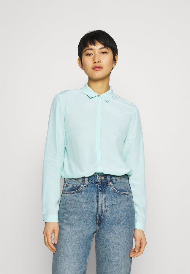 TOUCH ECO - Button-down blouse - mint