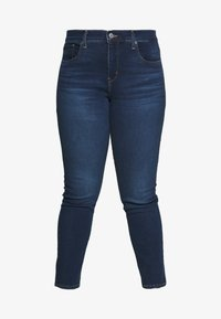 Levi's® Plus - SHAPING SKINNY - Jeans Skinny Fit - london dark indigo - 4