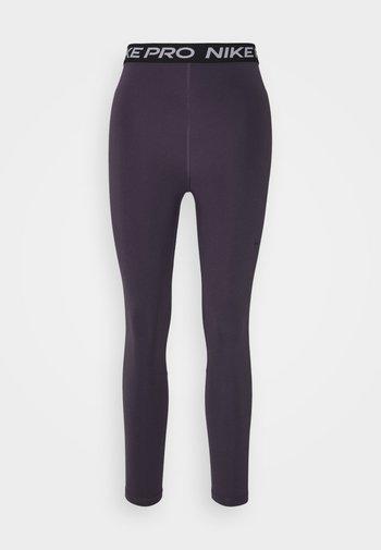 365 7/8 HI RISE - Leggings - dark raisin/black