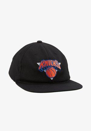 NBA TEAM LOGO DEADSTOCK THROWBACK SNAPBACK NEW YORK KNICKS - Cap - black