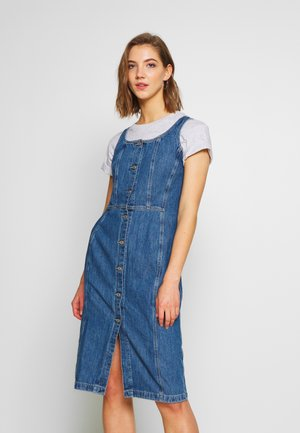 SIENNA DRESS - Denim dress - out of the blue