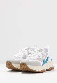 Nly by Nelly - BRILLIANT SHARP  - Tenisky - white/blue - 4