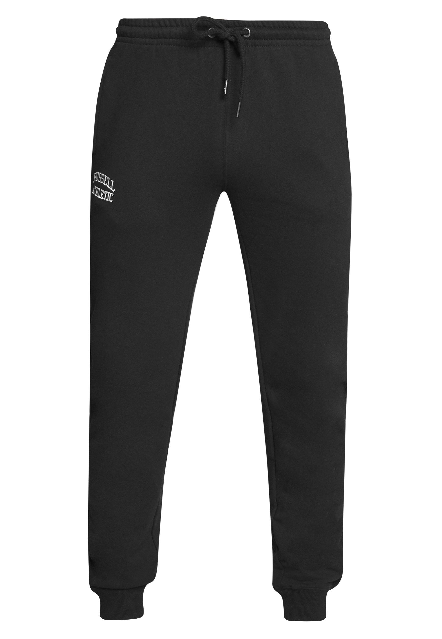 Russell Athletic Eagle R CUFFED LEG PANT SLIM FIT - Joggebukse - black