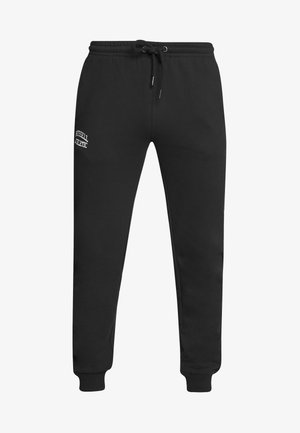 CUFFED LEG PANT SLIM FIT - Tracksuit bottoms - black