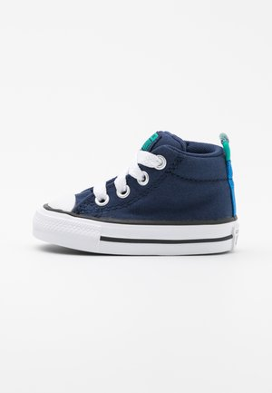CHUCK TAYLOR ALL STAR STREET SEASONAL UNISEX - Vysoké tenisky - midnight navy/court green/digital blue