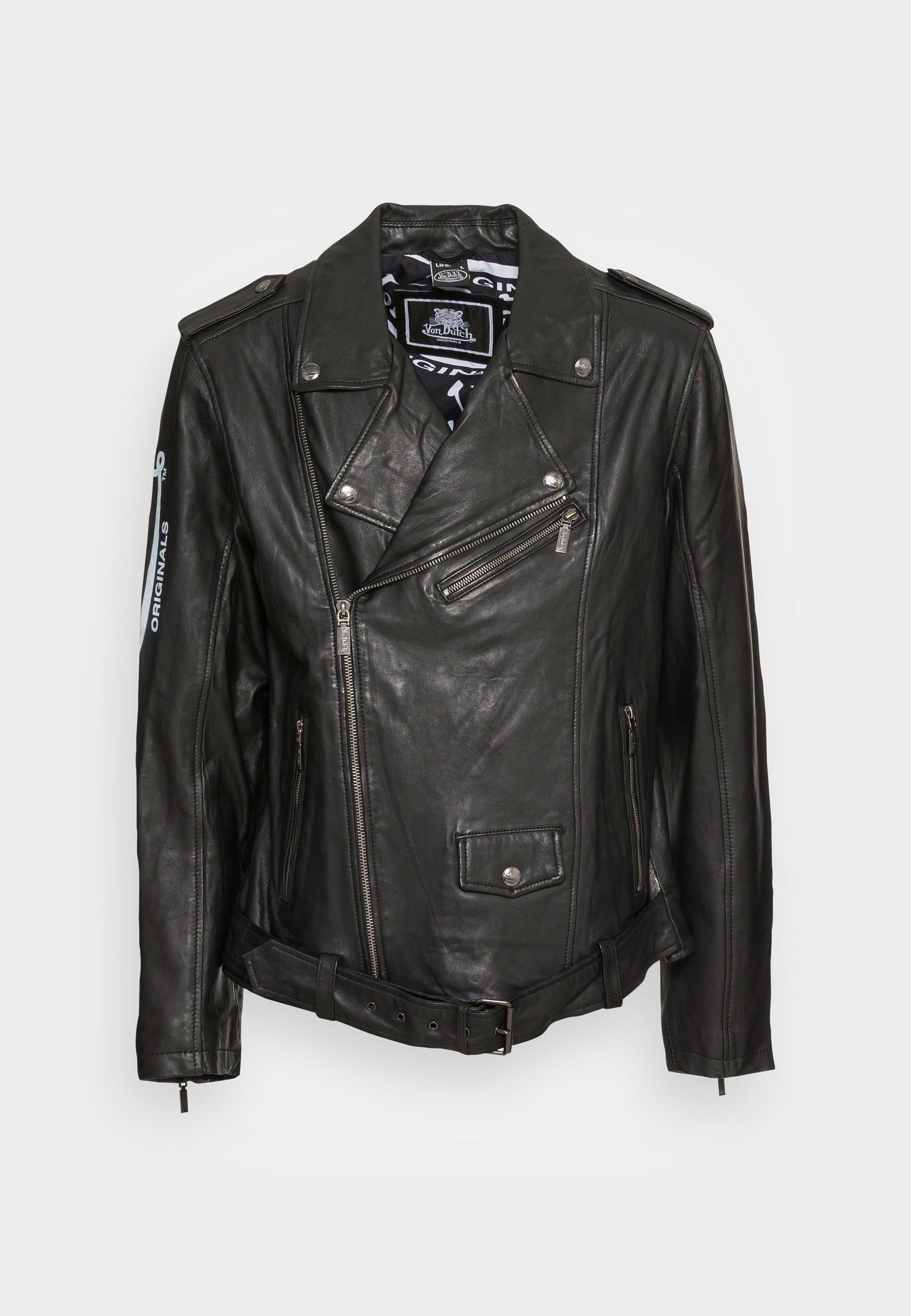 Men NICLAS BIKER - Leather jacket