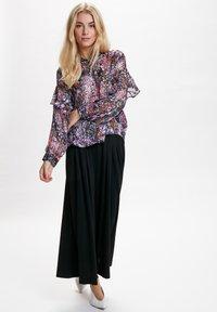 InWear - HILMA - Button-down blouse - purple flowers - 1
