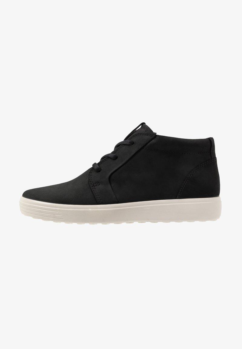 ECCO - SOFT 7 - Sneakersy wysokie - black