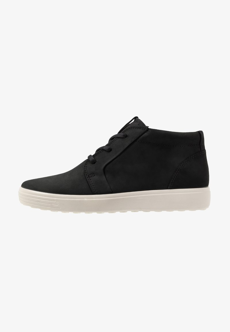 ECCO - SOFT 7 - Höga sneakers - black