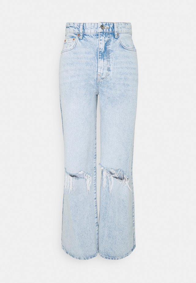 IDUN WIDE - Jeans baggy - bleach blue