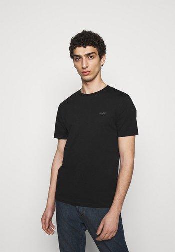 ALPHIS - Basic T-shirt - black
