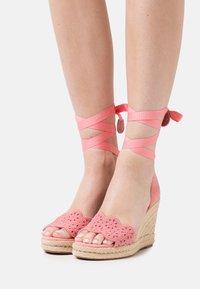 Tamaris - Platform sandals - candy - 0