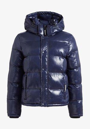 CAMILLE - Winter jacket - dunkelblau glänzend