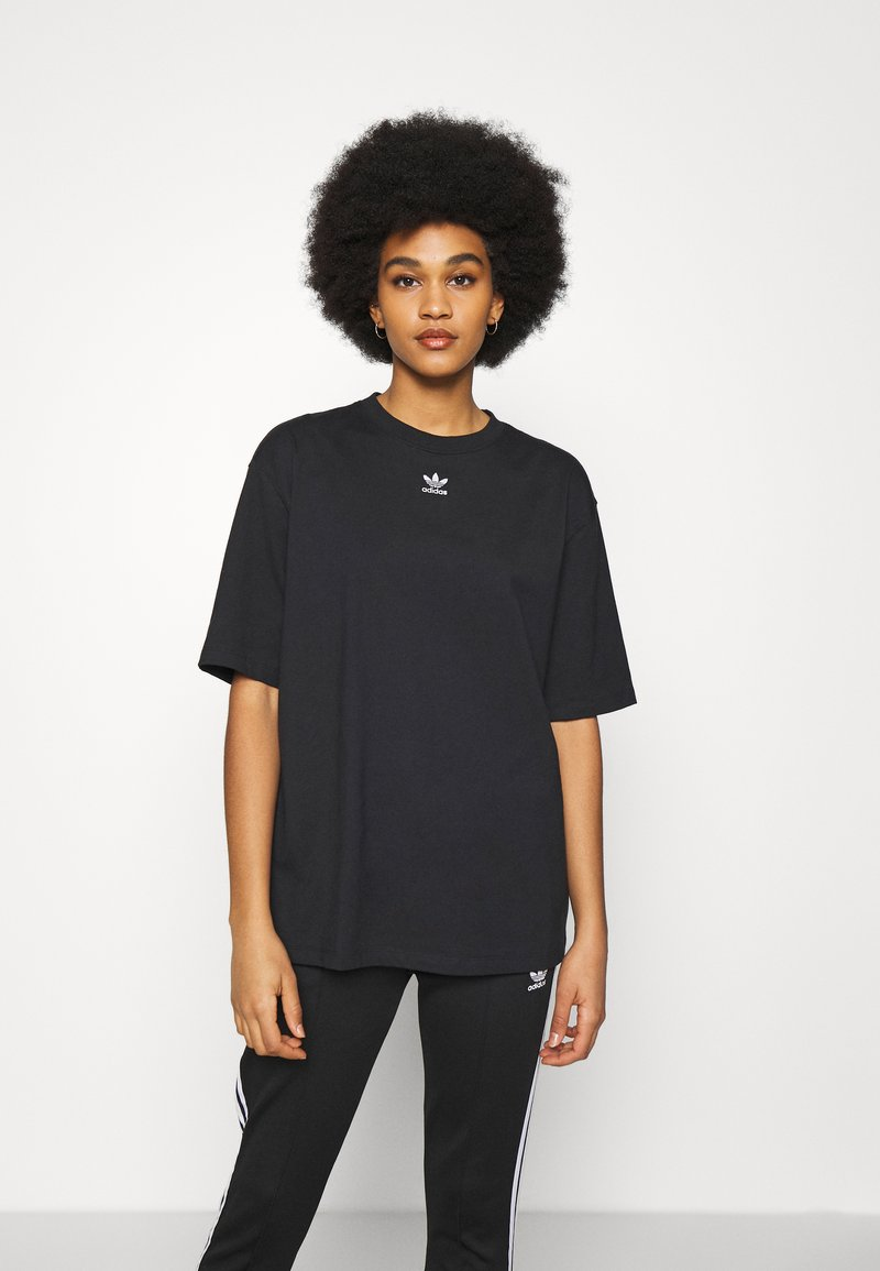adidas Originals - TEE - T-shirts - black