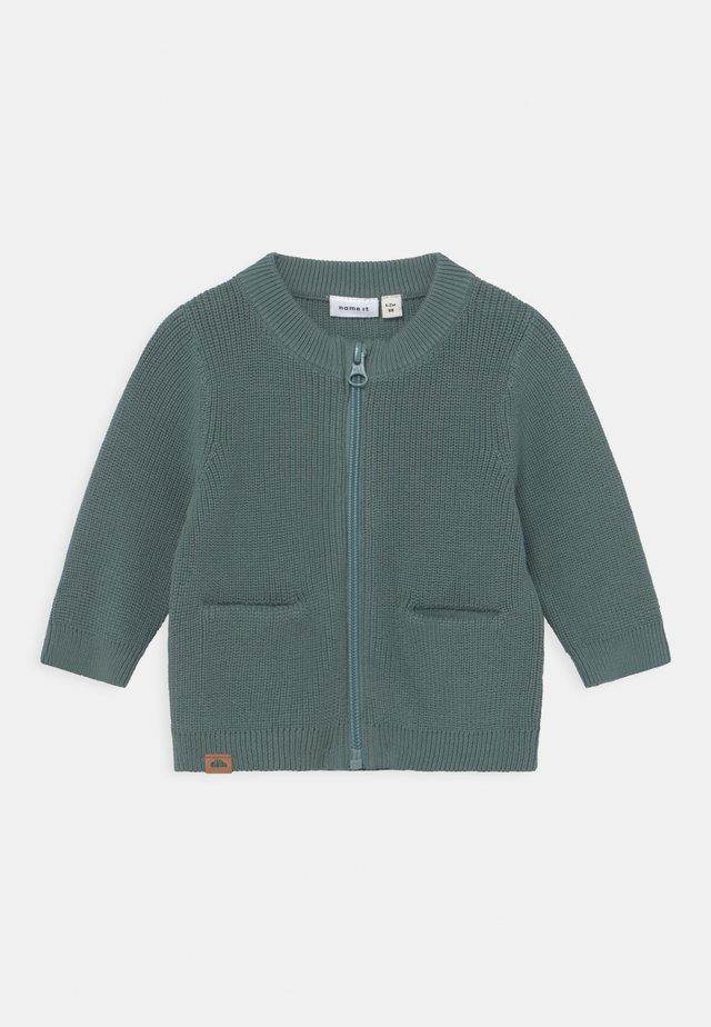 NBMKATAN - Cardigan - turquoise