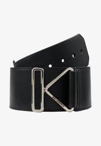 KARL LAGERFELD - KARL TRIANGLE BELT - Waist belt - black - 3