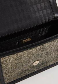 KARL LAGERFELD - SHOULDER BAG - Across body bag - bronze - 6