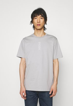 DURNED - Print T-shirt - silver