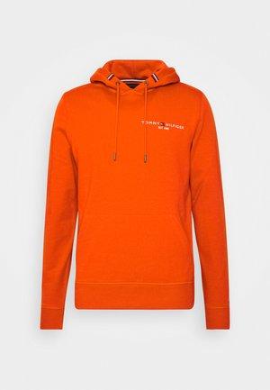 SMALL LOGO HOODY - Hoodie - orange