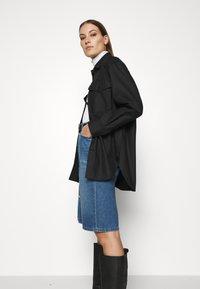 ARKET - Summer jacket - black dark - 3