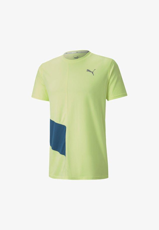 IGNITE - Print T-shirt - fizzy yellow-digi-blue