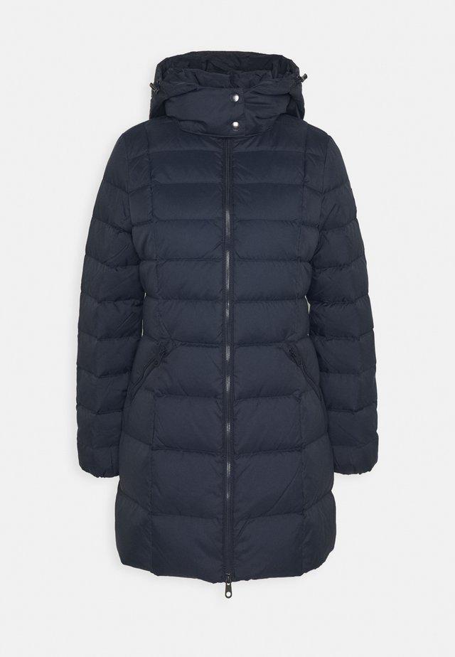 CLASSIC LONG JACKET - Down coat - evening blue
