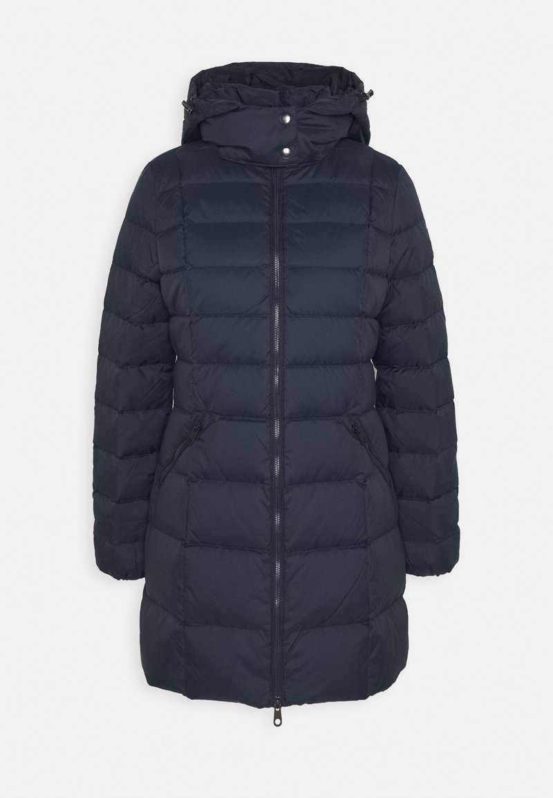 GANT - CLASSIC LONG JACKET - Down coat - evening blue
