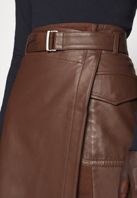 WEEKEND MaxMara - VENEZIA - A-line skirt - bronze - 4