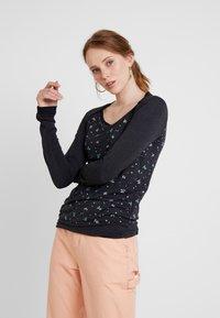 Ragwear - DELICIOUS - Long sleeved top - black - 0