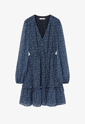 PASLY - Korte jurk - blau