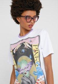 Pinko - BREATH  - T-shirts med print - multibianco/lila - 3