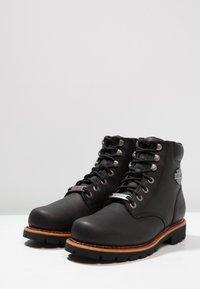 Harley Davidson - VISTA RIDGE   - Lace-up ankle boots - black - 2