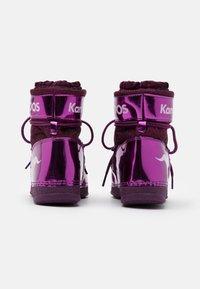 KangaROOS - K-MOON - Winter boots - dark berry/frost pink - 2