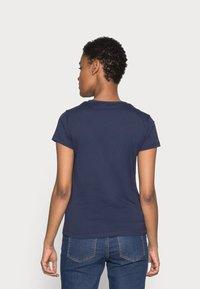 GANT - LOCK UP - Print T-shirt - evening blue - 2