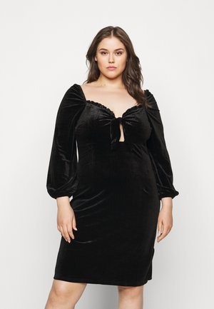 BLACK MILKMAID DRESS - Kjole - black
