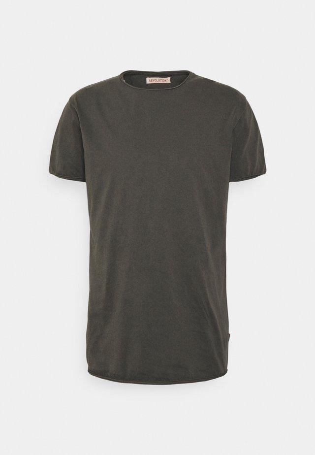 ROLL EDGE - T-shirt basic - black